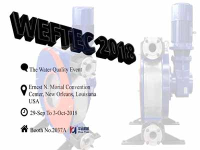 WEFTEC 2018 ,New Orleans,USA